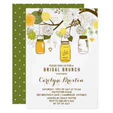 brunch invites bridal brunch invitations announcements zazzle