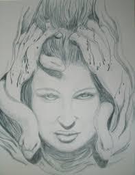 medusa drawing original fine art by sheekydoodlecreations on zibbet