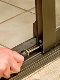 Replacing Patio Door Rollers by Brilliant Patio Door Glass Repair Sliding Door Glass Replacement
