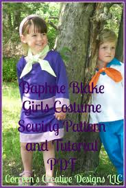 child u0027s daphne costume sewing pattern costume tutorial