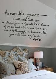 Wall Quotes For Bedroom by Decoración De Dormitorios Para Recién Casados Romantic Bedrooms