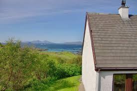 beach cottages scotland