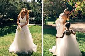 backyard wedding dresses on location david s bridal collection 2018 david s