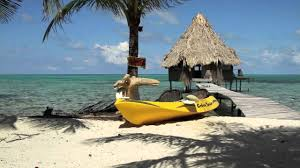 overwater bungalow glovers atoll resort belize time lapse youtube