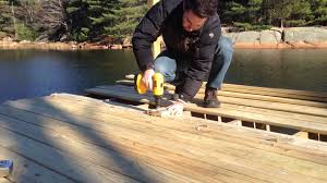 gig for aligning screws on pressure treated decking youtube