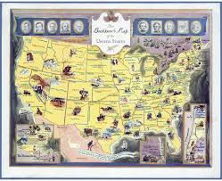 United States Map Poster by Maps Of Usa Detailed Map Of United States Of America In English