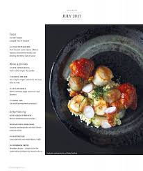 toqu 2 cuisine seafood and we re spotlighted in epicure after