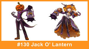 lost saga hero 130 jack o u0027 lantern youtube