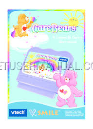 vtech baby care smile care bears lesson caring owner u0027s
