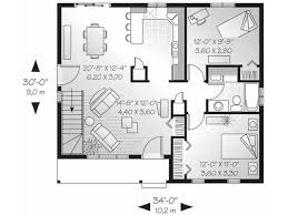Multi Family Building Plans by Small House Plans With Large Living Rooms