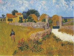 painting reproduction of gogh cottage