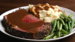 Salt Crusted Beef Tenderloin by Prime Rib With Garlic Herb Butter Youtube