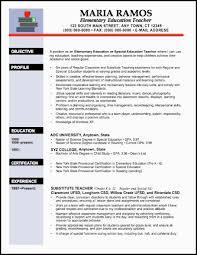 sle tutor resume template elementary resume exles http www resumecareer info