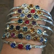 custom birthstone bracelets earth grace custom birthstone bracelet the bunker boutique