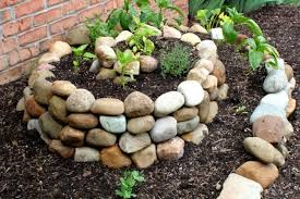 diy stone raised bed for small spaces backyard vegetable garden