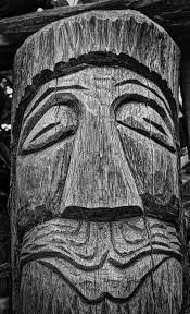 free images black and white wood statue symbol