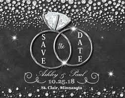 inexpensive save the date cards bling save the date magnet diamond save the date magnets cheap