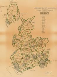 Counties In England Map by Lancashire County Council Environment Directorate Old Maps
