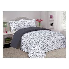 bay reversible quilted comforter set