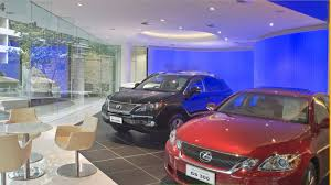 lexus showroom automotive