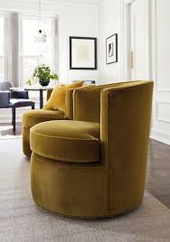 Living Room Chairs That Swivel Inspired By You Living With Velvet Swivel Chair Emeralds And