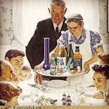 norman rockwell thanksgiving drugs historic lols thanksgiving