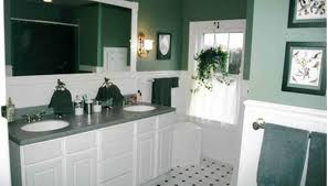 Bathrooms With White Cabinets How To Apply Stain Over White Paint On A Bathroom Vanity Homesteady