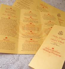 wedding program designs 30 wedding program design ideas to guide your wedding guests