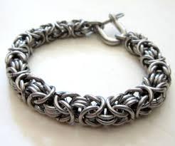 bracelet stainless steel images Men 39 s byzantine 16 gauge bracelet stainless steel jewelry for men jpg