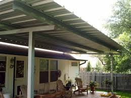 Austin Decks And Patios Patio Cover Free Standing Over Deck All Galvanized Steel