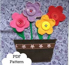button flowers button flowers book page pdf pattern pdf book