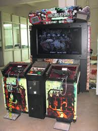 shooting game machine simulator machine coin operated arcade