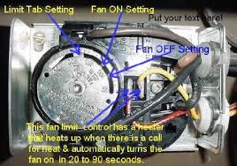 furnace fan switch wiring wood furnace limit switch issue arboristsite com