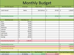 Excel Spreadsheet For Monthly Expenses Monthly Bill Log Template