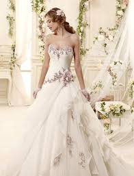 colorful wedding dresses wedding dress with color obniiis