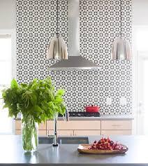 Atlas Mediterranean Kitchen - moroccan style cement backsplash tiles contemporary kitchen
