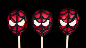 spiderman cake pops from cookies cupcakes and cardio youtube