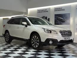 subaru outback black 2017 used subaru outback 2 5i se premium lineartronic estate for sale