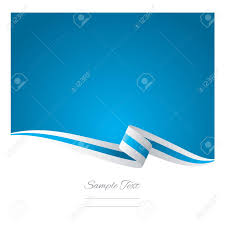 white blue ribbon abstract white light blue ribbon vector royalty free cliparts