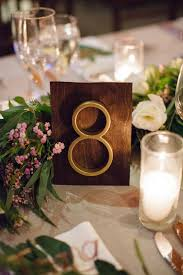 modern table numbers ocean institute wedding dana point heavenly blooms