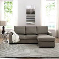 chaise reversible chaise sectional couch with aspen leather sofa