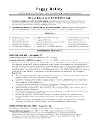 hr generalist resume format human resources generalist resume