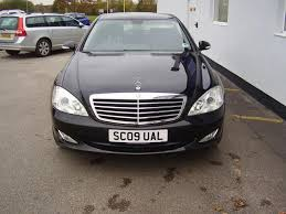 mercedes s class for sale uk used mercedes 2009 black paint diesel class s320 cdi 4dr