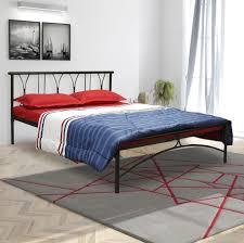 furniturekraft washington metal queen bed price in india buy
