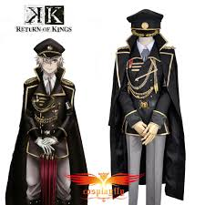 military halloween costume k anime return of kings isana yashiro military uniform