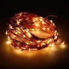 Outdoor V Lighting - buy 12 volt waterproof copper string light 10m 100 led outdoor