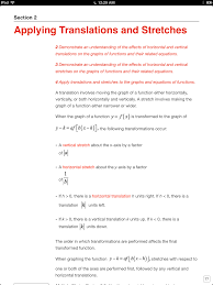 the key study guide alberta mathematics 30 1 u2014 castle rock research