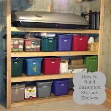 quick guide basement shelving plans 3654