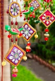 Diwali Craft Idea Wall Hanging CRAFTS Pinterest Diwali - Indian wall hanging designs