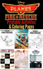 planes fire u0026 rescue printable activities u0026 coloring pages